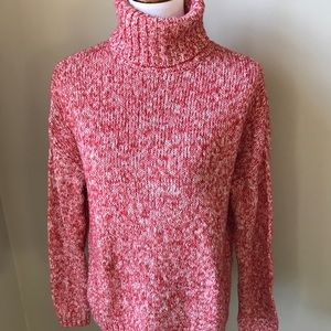 Old navy red and white cozy sweater